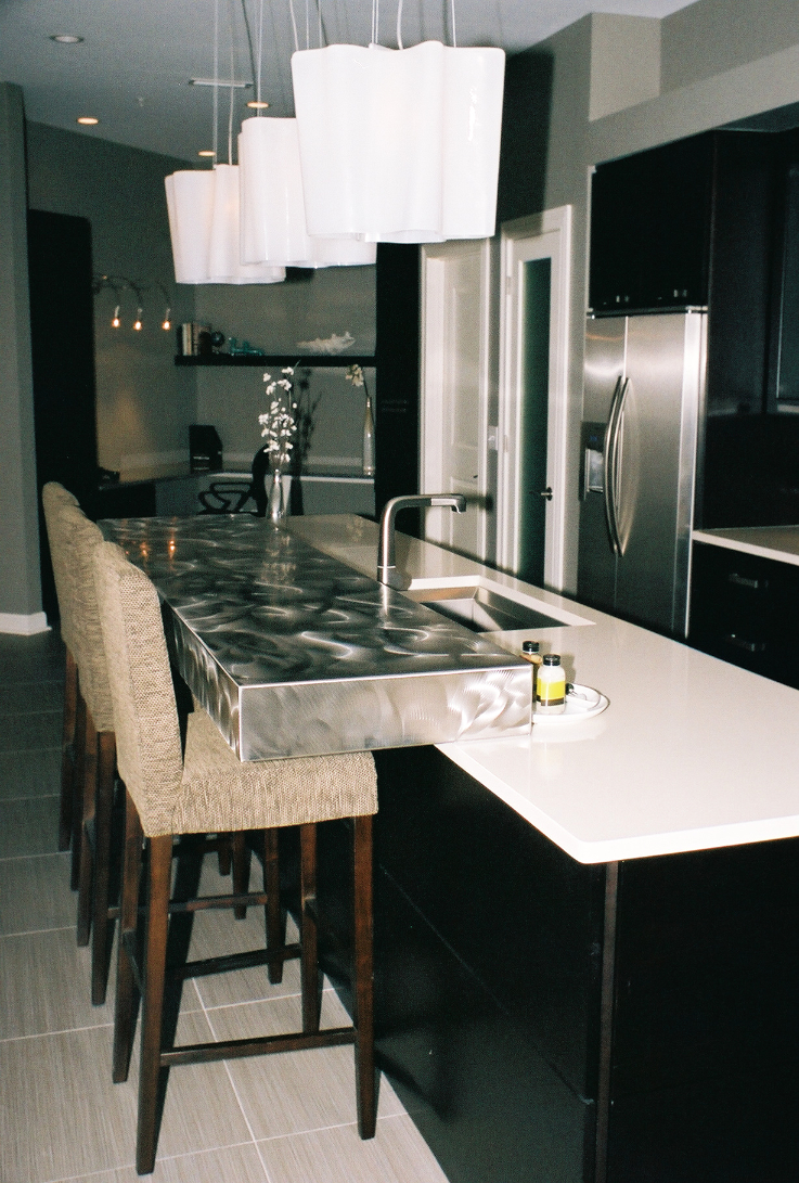 Modern Kitchen Countertop Kitchen Countertop Ideas Indianapolis Granite Countertops By