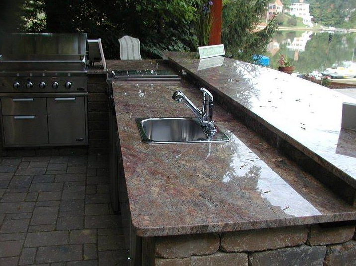 Outdoor Kitchens Indianapolis Granite Countertops By