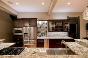 Ice Brown Granite Kitchen