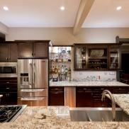 Ice Brown Granite Kitchen